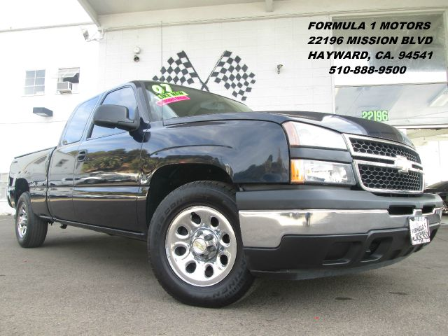 2007 CHEVROLET SILVERADO 1500 LS EXT CAB SHORT BOX 2WD midnight blue abs brakesair conditioning