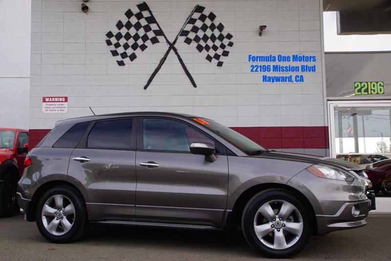 2008 ACURA RDX SH AWD WTECH 4DR SUV WTECHNOLO polished metal metallic exhaust - dual tipdoor ha