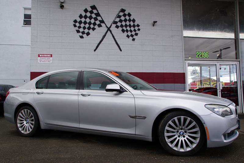 2010 BMW 7 SERIES 750LI 4DR SEDAN titanium gray metallic 2-stage unlocking doors abs - 4-wheel