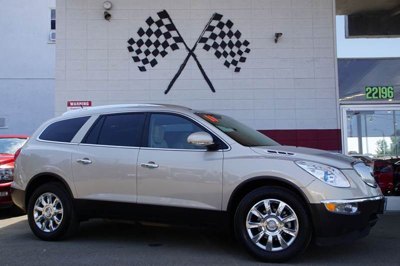 2011 BUICK ENCLAVE CXL 1 4DR CROSSOVER W1XL white diamond tricoat 2-stage unlocking doors abs -