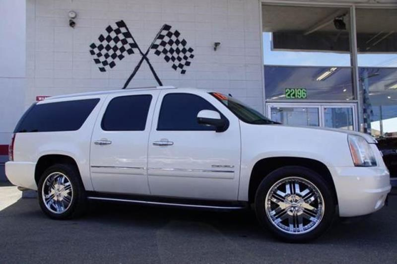 2012 GMC YUKON XL DENALI 4X2 XL 4DR SUV summit white with unparalleled space and an exquisite cab