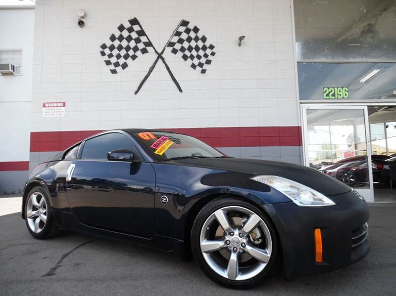 2007 NISSAN 350Z 2DR HATCHBACK blue clean nissan 350z fast super fun to drive 6 speed manuel