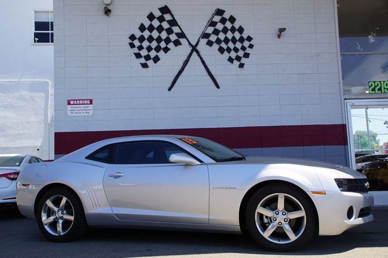 2013 CHEVROLET CAMARO LS 2DR COUPE W1LS silver ice metallic abs - 4-wheel active head restraint