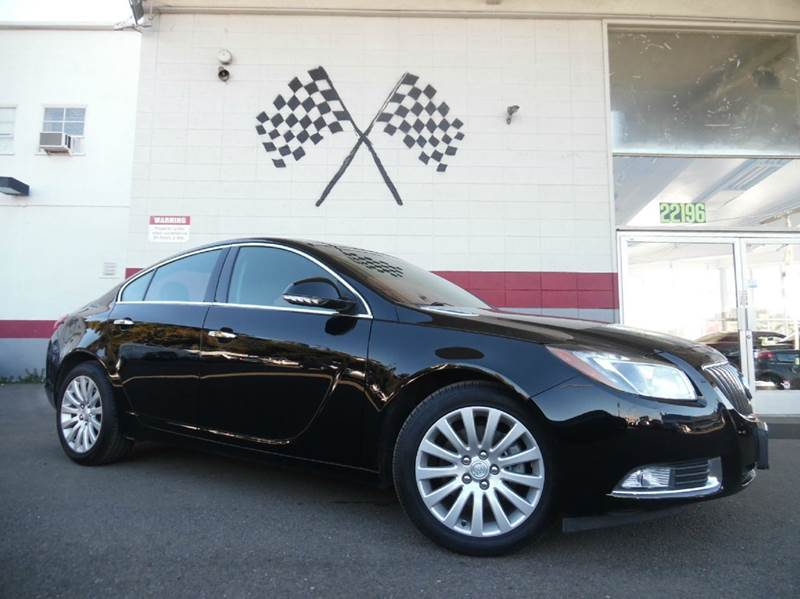 2013 BUICK REGAL PREMIUM 2 4DR SEDAN TURBO black vin 2g4gt5gv8d9249951 great looking black leathe