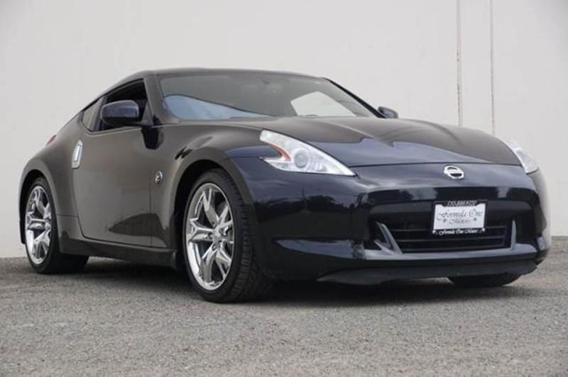 2011 NISSAN 370Z TOURING 2DR COUPE 7A magnetic black metallic 2-stage unlocking doors abs - 4-whe