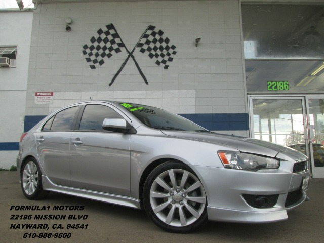 2010 MITSUBISHI LANCER SPORTBACK GTS silver this is a rare to find mitsubishi sportback lancer it