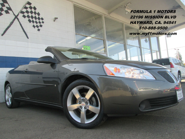 2006 PONTIAC G6 GT CONVERTIBLE granite metallic abs brakesair conditioningalloy wheelsamfm rad