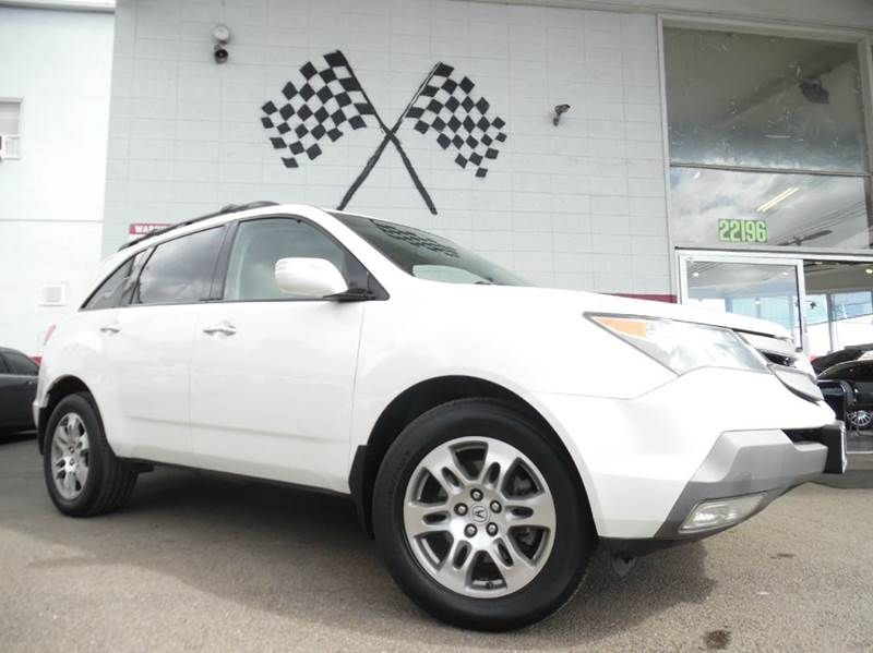 2008 ACURA MDX SH-AWD WPOWER TAILGATE WTECH 4 white vin2hnyd286x8h549704  2-stage unlocking do
