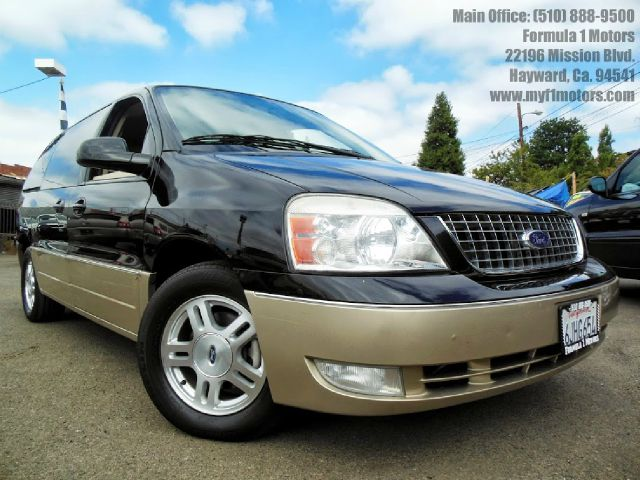 2004 FORD FREESTAR LIMITED black  beige 42l v6 automatic leather 3rd row seat luggage rack s