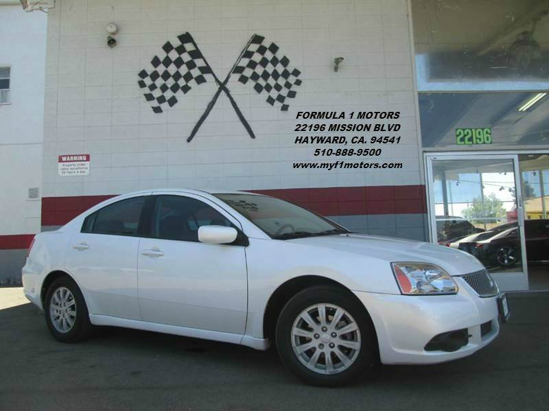 2012 MITSUBISHI GALANT FE 4DR SEDAN white great 1st  car very dependable runs great very low p