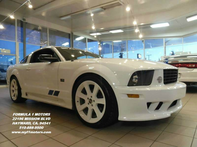 2006 FORD MUSTANG GT PREMIUM 2DR COUPE white this is a super clean ford mustang saleen still sme