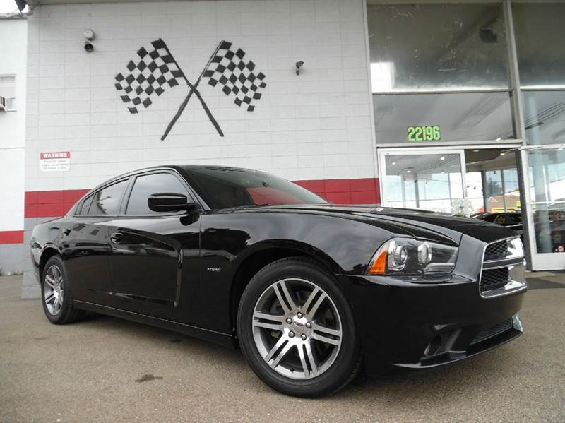 2013 DODGE CHARGER RT 4DR SEDAN black super clean dodge charger rt 57l hemi engine runs great