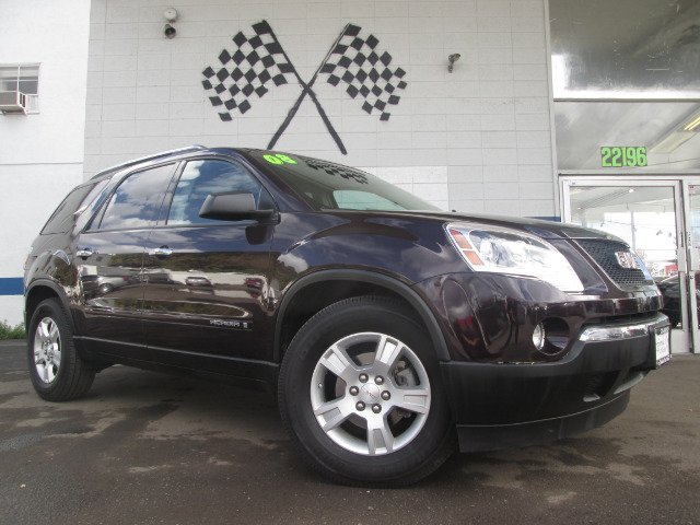 2008 GMC ACADIA SLE-2 FWD purple abs brakesair conditioningalloy wheelsamfm radioanti-brake s