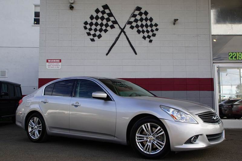 2012 INFINITI G37 SEDAN JOURNEY 4DR SEDAN graphite shadow 2-stage unlocking doors abs - 4-wheel