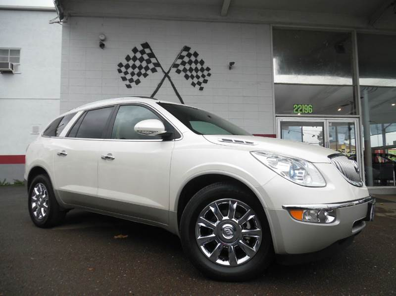 2011 BUICK ENCLAVE CXL-1 4DR SUV W1XL white vin 5gakrbed1bj383208 fully loaded buick enclave