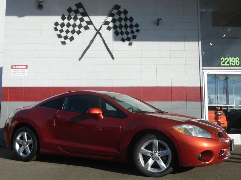 2008 MITSUBISHI ECLIPSE GS 2DR HATCHBACK sunset pearlescent 2-stage unlocking doors abs - 4-whee
