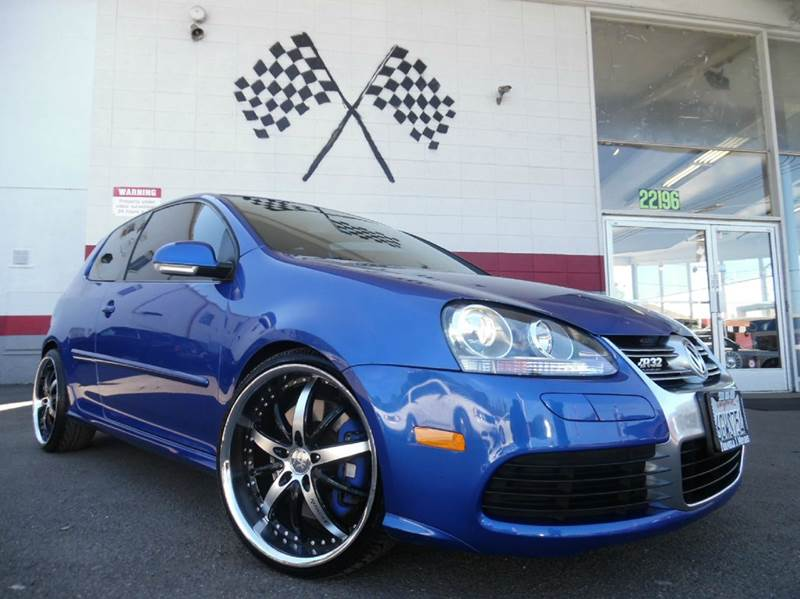 2008 VOLKSWAGEN R32 AWD 2DR HATCHBACK blue this is a very nice volkswagon r32 in perfect conditio