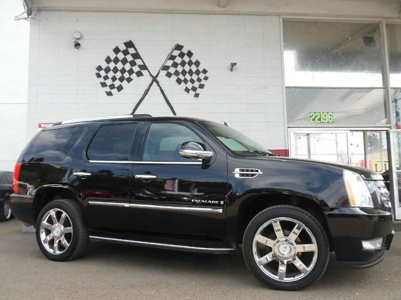 2008 CADILLAC ESCALADE BASE AWD 4DR SUV black raven 2-stage unlocking doors 4wd type - full time