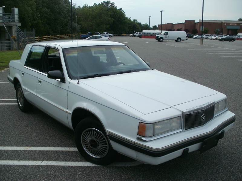 1990 chrysler new yorker salon 4dr sedan in lodi nj ron for 1993 chrysler new yorker salon sedan