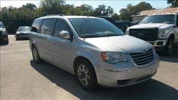 2008 Chrysler Town and Country for sale in Comanche, TX