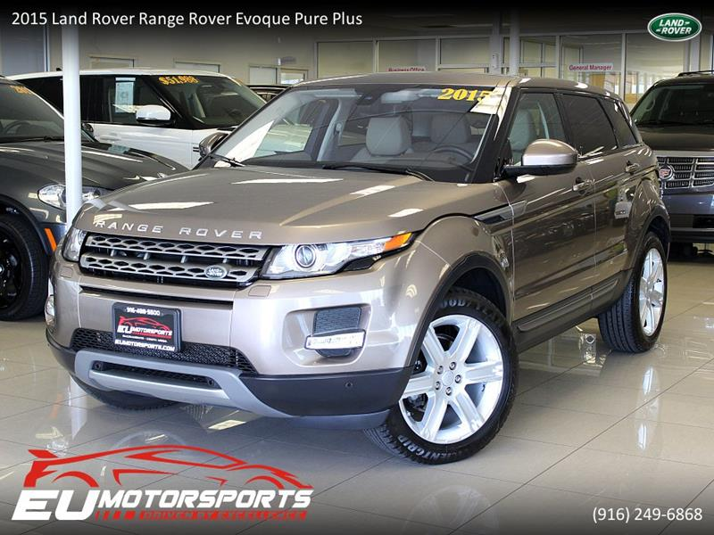 2015 Land Rover Range Rover Evoque AWD Pure Plus 4dr SUV In ...