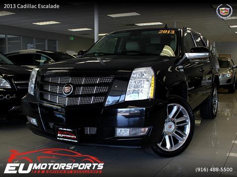 2013 Cadillac Escalade for sale in Sacramento, CA