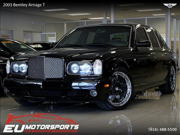 2003 Bentley Arnage for sale in Sacramento, CA