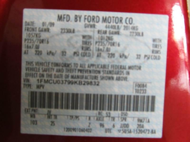 2009 Ford Escape XLT 4dr SUV - Lawrence KS