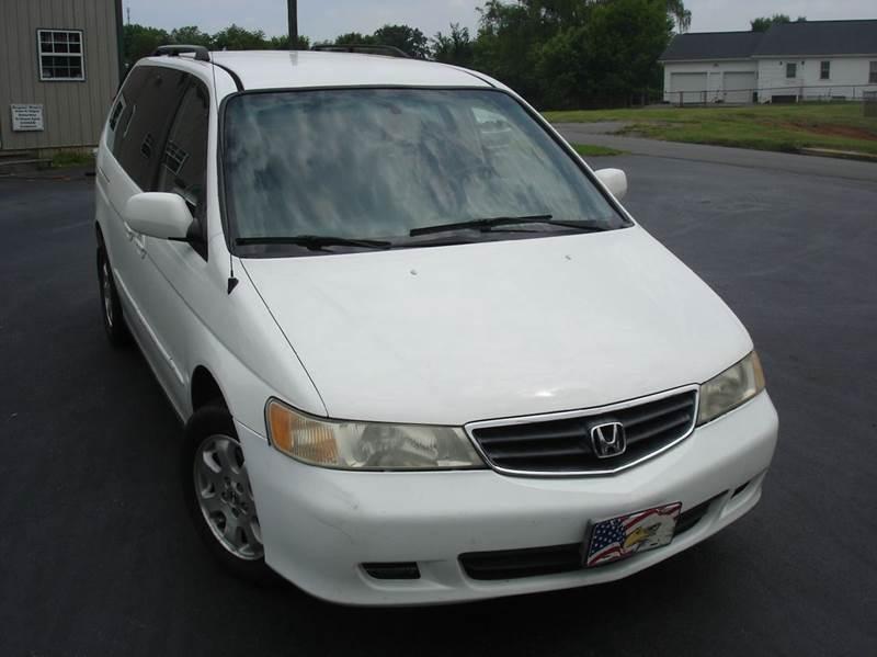 2002 Honda Odyssey EX-L 4dr Mini-Van w/DVD and Leather - Mt Carmel TN