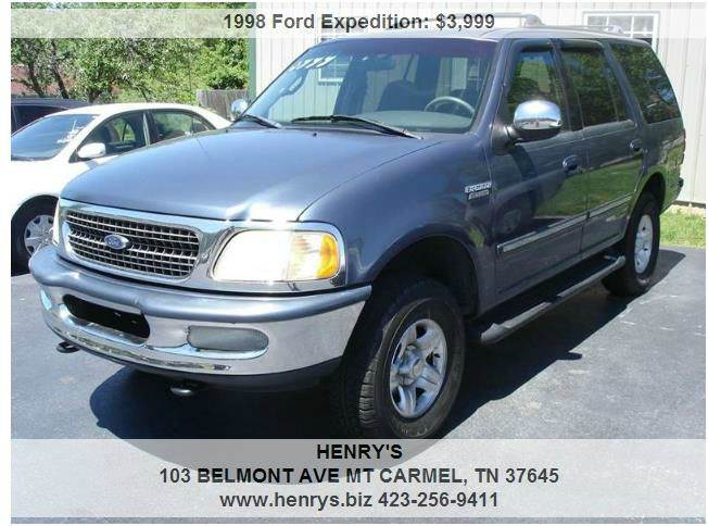 1998 Ford Expedition 4dr XLT 4WD SUV - Mt Carmel TN
