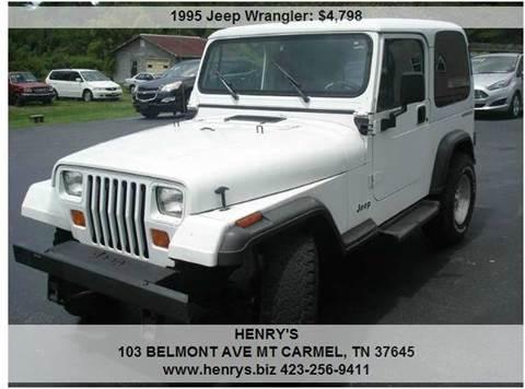 1995 Jeep Wrangler