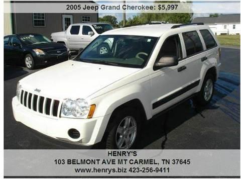 2005 Jeep Grand Cherokee for sale in Mt Carmel, TN