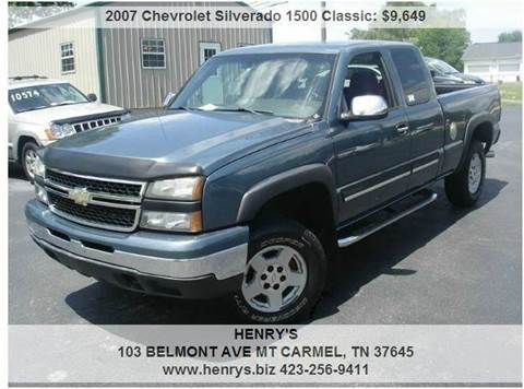 2007 Chevrolet Silverado 1500 Classic for sale in Mt Carmel, TN