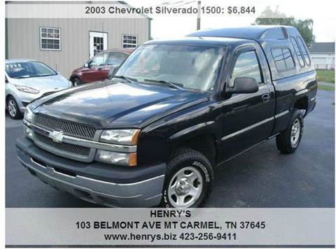 2003 Chevrolet Silverado 1500 for sale in Mt Carmel, TN