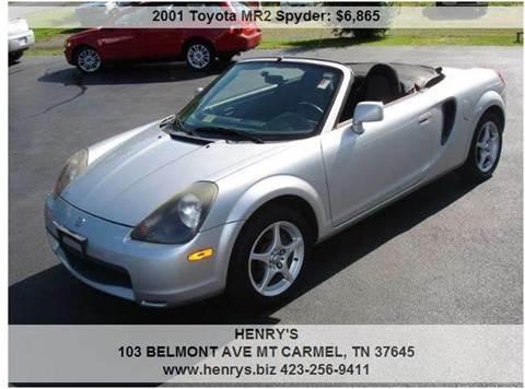 2001 Toyota MR2 Spyder