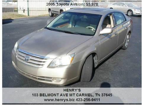 2005 Toyota Avalon for sale in Mt Carmel, TN