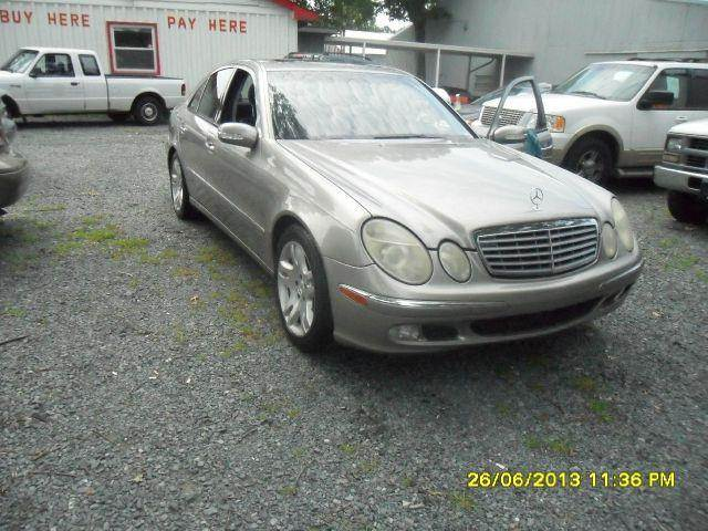 2003 mercedes benz e class e500 in charlotte nc electra for Mercedes benz e500 2003