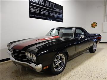 1970 Chevrolet El Camino For Sale  Carsforsalecom