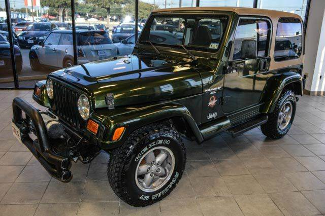 1997 jeep wrangler sahara 4wd brand new tires in austin tx. Black Bedroom Furniture Sets. Home Design Ideas