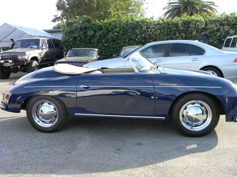 1959 Porsche 356 Speedster Beck Replica In Santa Barbara