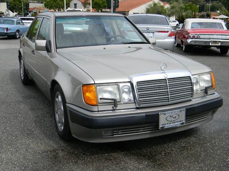 1992 mercedes benz 500 class 500e 4dr sedan in santa for Santa barbara mercedes benz