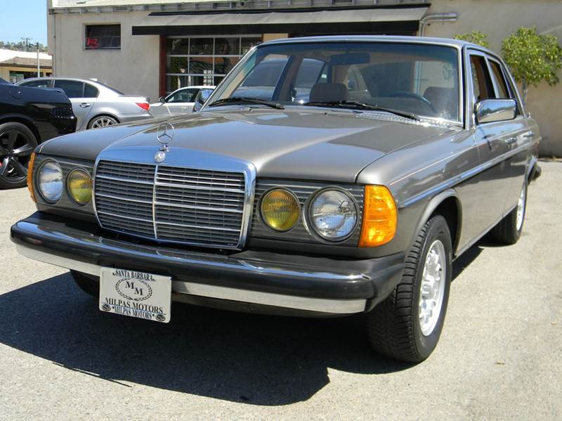 1981 mercedes benz 300 class 300d 4dr diesel sedan in for Santa barbara mercedes benz