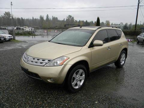 2004 Nissan Murano for sale in Kenmore, WA