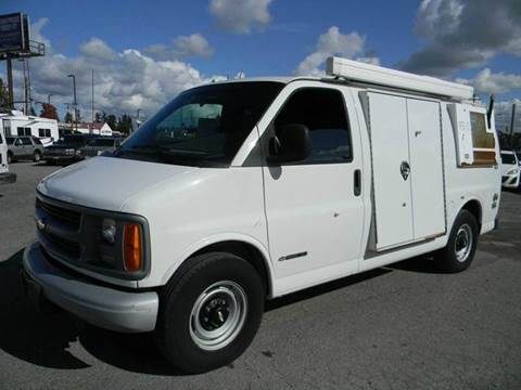 2002 Chevrolet Express Cargo for sale in Kenmore, WA