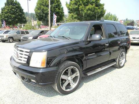2002 Cadillac Escalade for sale in Kenmore, WA
