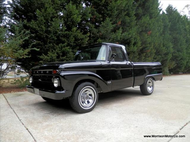 Van Nuys Used Cars 1966+Ford+F100+Flat+Black Used 1966 Ford F100 for sale.   Black 1966 ...