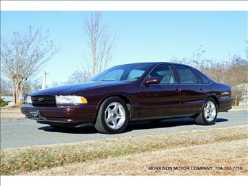 1996 chevrolet impala for sale in north carolina. Black Bedroom Furniture Sets. Home Design Ideas