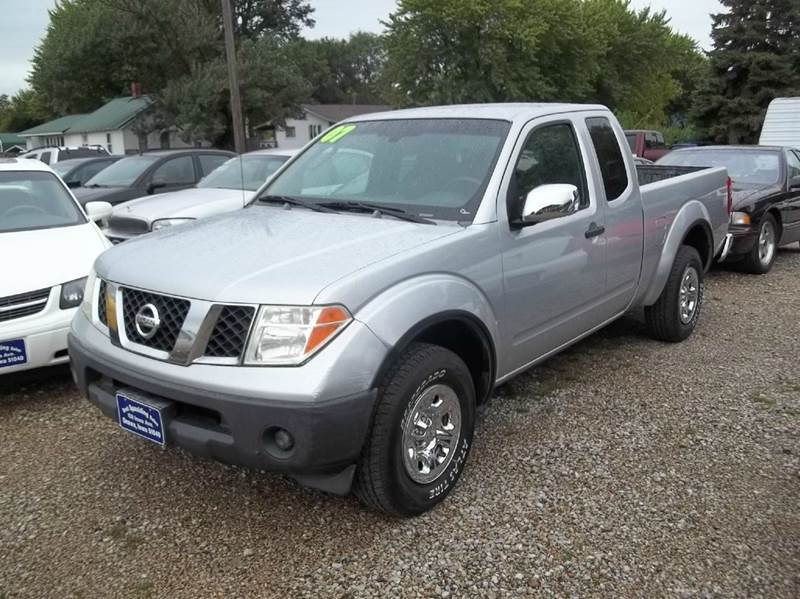2007 nissan frontier xe 4dr king cab 6 1 ft sb 2 5l i4 5m in onawa ia brett spaulding sales. Black Bedroom Furniture Sets. Home Design Ideas