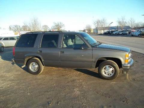 1999 Chevrolet Tahoe