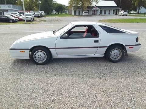 1988 dodge daytona for sale in onawa ia. Black Bedroom Furniture Sets. Home Design Ideas